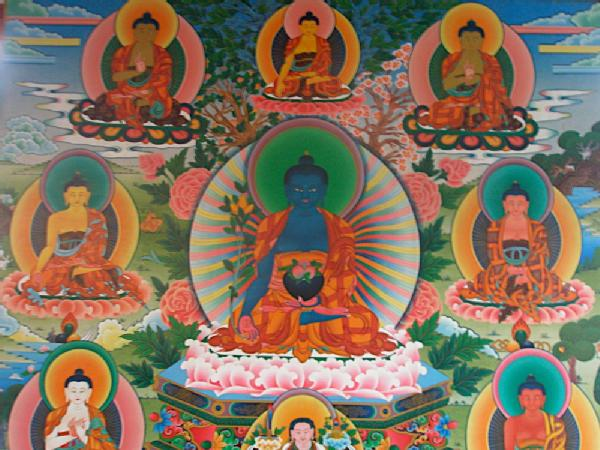 Reincarnation cycle of Buddha